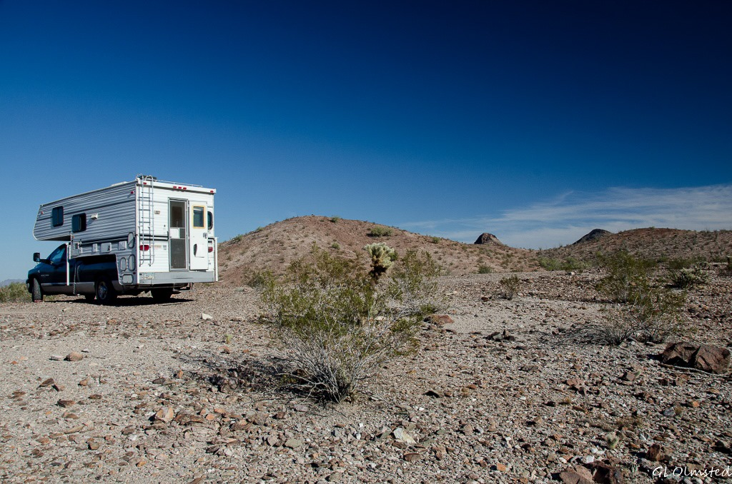 Quieter in Quartzsite - Geogypsy
